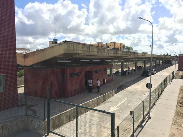 Terminal de Santa Luzia no Recife (Foto: Thays Estarque/G1)
