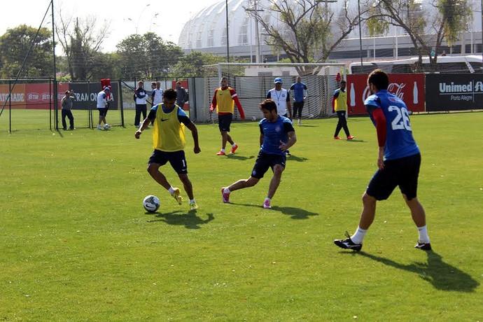 Elenco do Bahia realiza treinamento no CT do Internacional, no Rio Grande do Sul (Foto: Divulgação/E.C. Bahia)