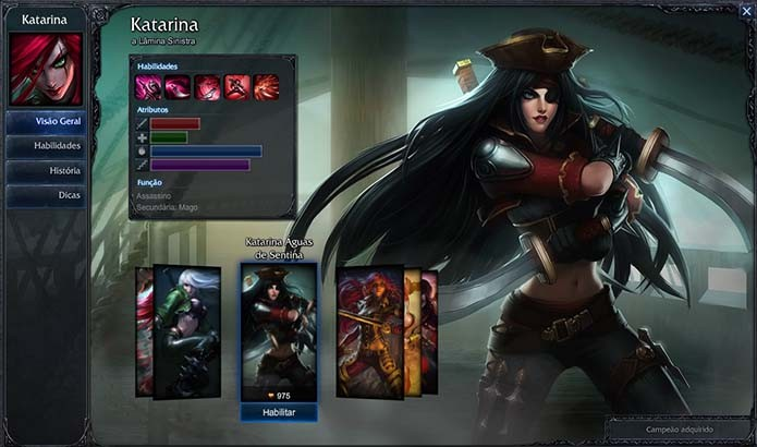 Katarina e sua bonita roupa de pirata (Foto: Reprodução/Murilo Molina)