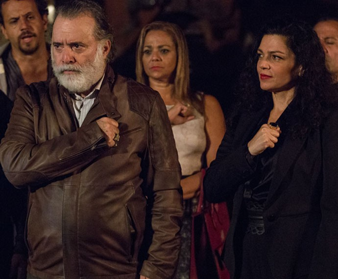 Zé Maria é promovido na facção (Foto: Fábio Rocha/Gshow)