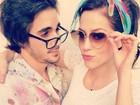 Sophia Abrahão e Fiuk fazem foto romântica em estilo retrô