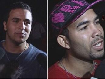 Wemerson e Elenilson aguardam julgamento em liberdade. (Foto: Reprodução/TV Globo)