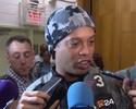 Ronaldinho diz estar feliz de ver Messi e Neymar fazerem história no Barça