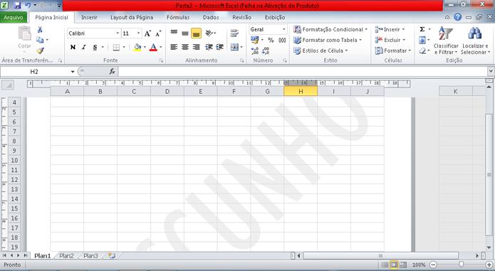 Imagem será adicionada como marca dágua no plano de fundo do Excel (Foto   Reprodução 50df04513c