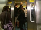 Vídeo mostra prisão de suspeito de abusar de mulher no Metrô de SP
