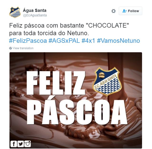 Agua Santa x Palmeiras zoeira