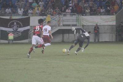 Flamengo x Fluminense Richarlison (Foto: Fabiano de Oliveira/GloboEsporte.com)