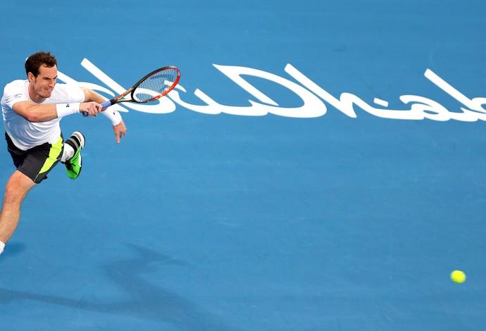 Andy Murray Torneio de Abu Dabi Tênis (Foto: AP)