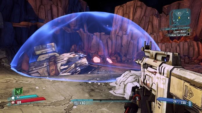 Com armas de choque você consegue causar danos adicionais em inimigos com escudos (Foto: Reprodução)