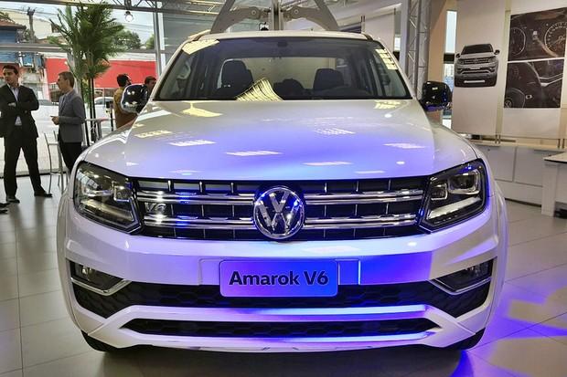VW Amarok V6 (Foto: Diogo de Oliveira/Autoesporte)