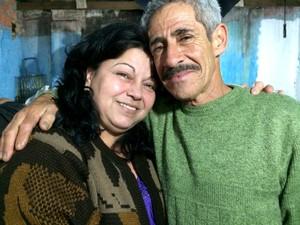 Tânia e Camilo são casados há 16 anos (Foto: Caetanno Freitas/G1)