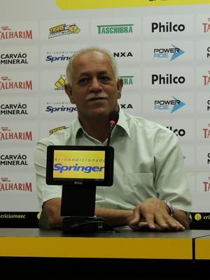 Raimundo Queiroz Criciúma (Foto: João Lucas Cardoso)