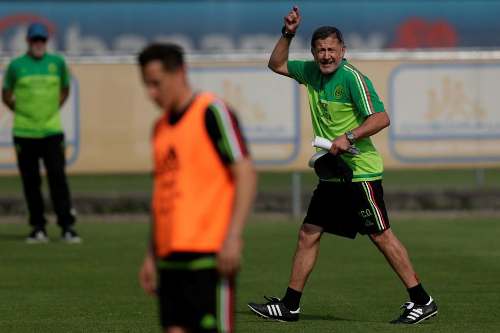 Osorio tentará levar México, 17º no ranking da Fifa, a boa campanha na Rússia (Foto: Reuters)