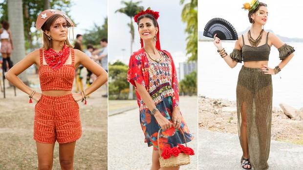 CANTO: fantasia Maria Bonita - R$ 199,00; fantasia Frida Kahlo - R$ 299,00; fantasia Carmem Miranda - R$ 259,00 (Foto: Divulgao / Canto)