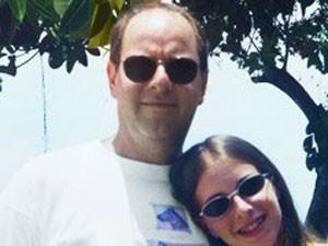 Ari Friedenbach e sua filha, Liana, morta em 2003 (Foto: Reprodução/arquivo pessoal)