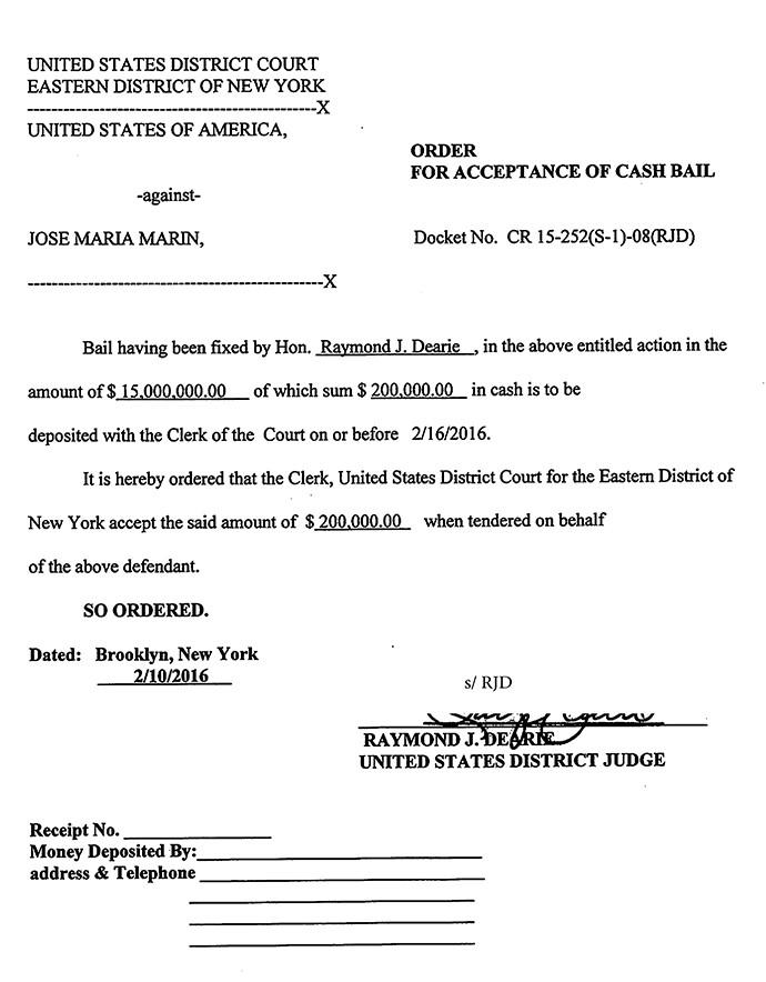 BLOG: Acordo é oficializado, e Marin tem até a próxima terça para pagar US$ 200 mil