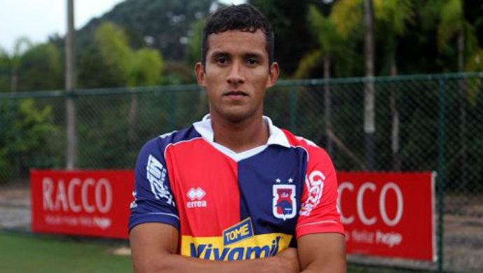 Rodrigo Zagueiro Paraná Clube Tricolor (Foto: Divulgação / Paraná Clube)