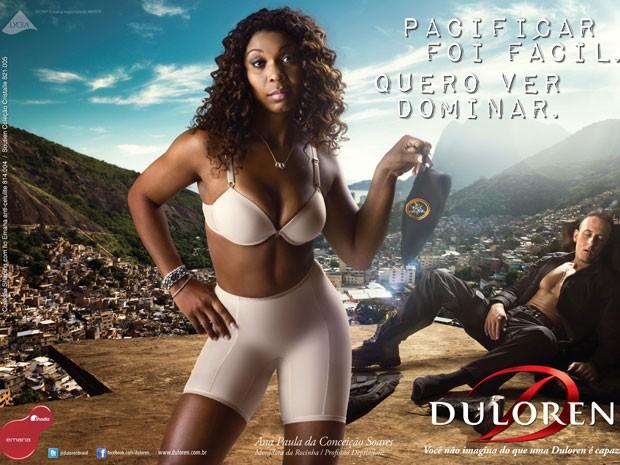 Imagem da campanha da Duyloren, lançada em março (Foto: Divulgação)