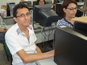 Enfermeiro Ageu Ribeiro participou da capacitação em Cacoal (RO) (Foto: Magda Oliveira/G1)