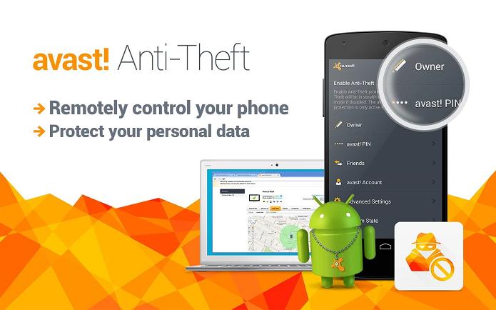 avast! Free Antivirus é um aplicativo para rastrear o Android em caso de perda ou roubo (Foto: Reprodução/avast! Free Antivirus)