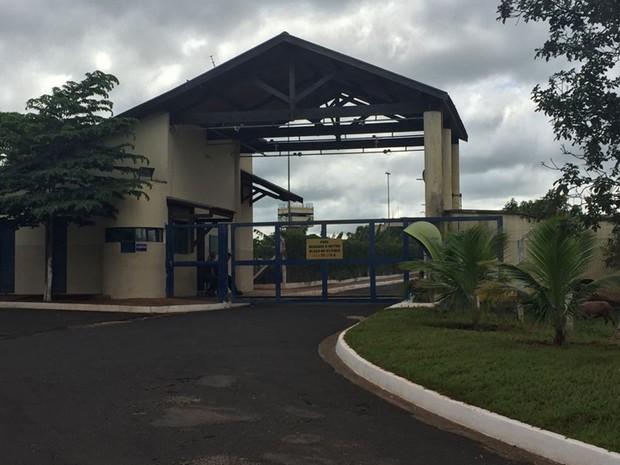 Penitenciária de Tupi Paulista (Foto: Claudinei Troiano/TV Fronteira)