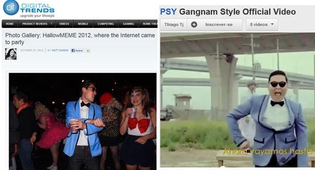 Fantasia de Psy (Foto: Reprodução)