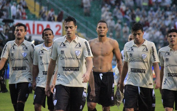 Figueirense derrota Palmeiras Orlando Scarpelli (Foto: Luiz Henrique/Figueirense FC)