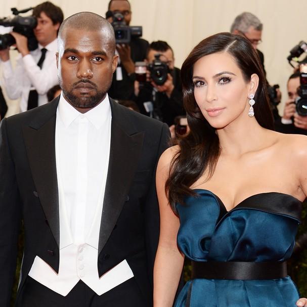 Os noivos do momento, Kim Kardashian e Kanye West tiveram uma lua de mel extravagante na Irlanda, depois do casamento milionário na Itália (Foto: Getty Images)