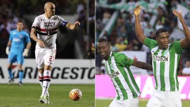 futebol libertadores (Foto: Rubens Chiri/saopaulofc.net/Divulgação site oficial Atlético Nacional)