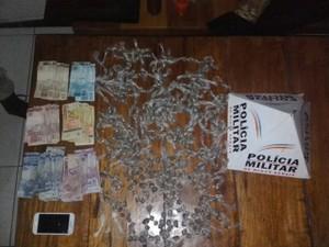 droga (Foto: Polícia Militar/ Divulgação)