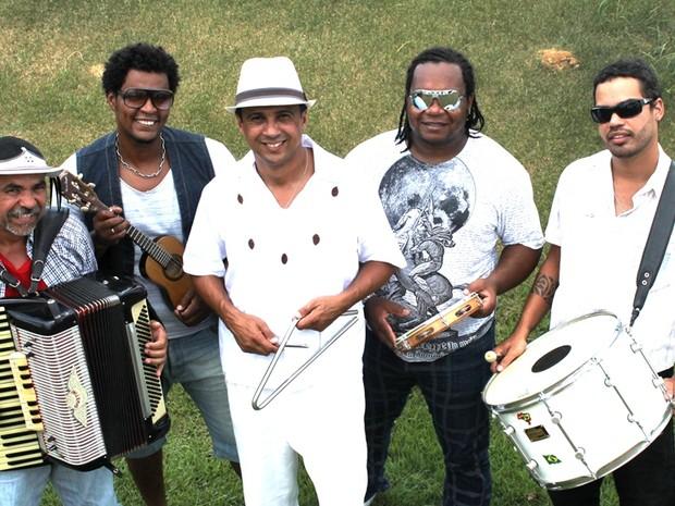 A banda Forró Didoido se apresenta no sábado (17) em homenagem a Jackson do Pandeiro. (Foto: Divulgação/SESI Itaperuna)