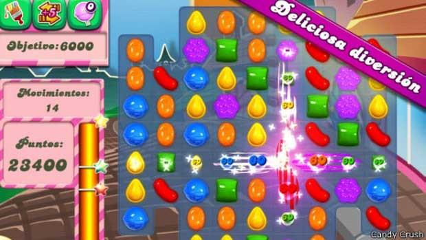 Psicologia explica sucesso do jogo Candy Crush. (Foto: BBC)