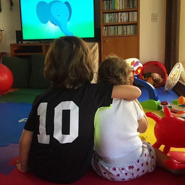 Filhos de Luana Piovani, Dom e Liz (Foto: Instagram / Reprodução)
