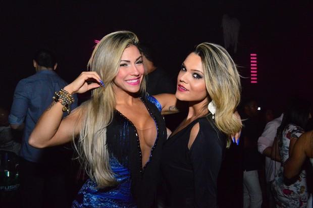 Verônica Araújo e Marcela Moura (Foto: Rodrigo Mesquita / Divulgação)