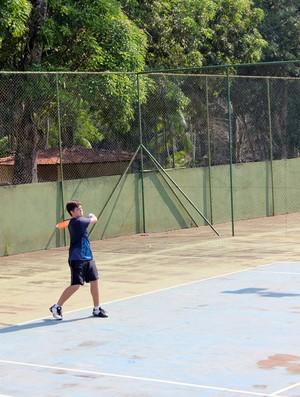 II Copa Ecoville de Tênis em Porto Velho (Foto: Larissa Vieira/GLOBOESPORTE.COM)