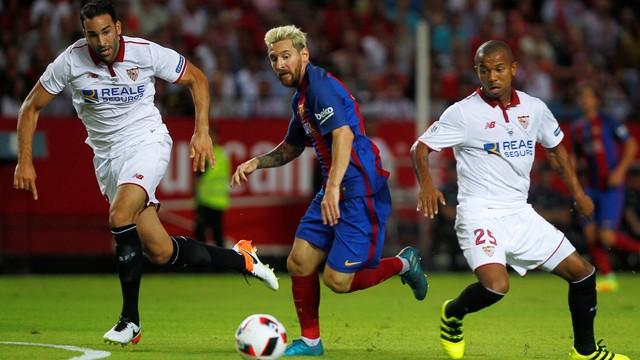 Resultado de imagem para sevilla x barcelona supercopa 2016