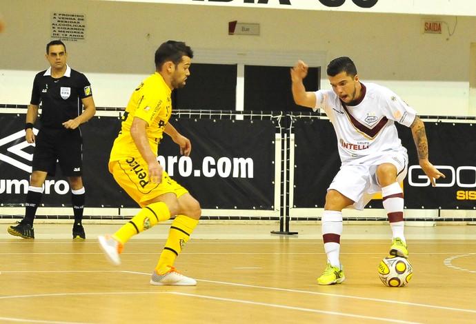 Jackson Orlândia Jaraguá Superliga de Futsal (Foto: Ricardo Artifon/CBFS)