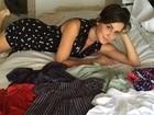 Deborah Secco mostra enxoval da filha: 'Pensa em uma mamãe babona'