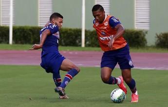 Com visitas de Titi e Bruno Paulista, Bahia finaliza preparação para partida