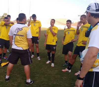 Rio Branco-SP Tigre Elenco Copa Paulista (Foto: Nacim Elias / Rio Branco-SP)