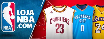 Compre os produtos oficiais da NBA (Divulgação)