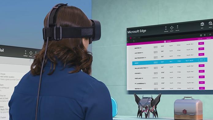 Suporte à realidade virtual chega ao Windows 10 em 2017 com especificações técnicas bem modestas (Foto: Divulgação/Microsoft) (Foto: Suporte à realidade virtual chega ao Windows 10 em 2017 com especificações técnicas bem modestas (Foto: Divulgação/Microsoft))