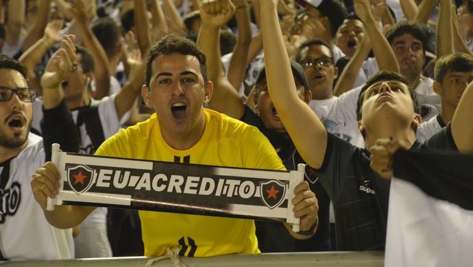 Botafogo-PB, torcida (Foto: Cadu Vieira / GloboEsporte.com)