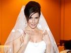 Deborah Secco sobre seu vestido de casamento: 'Ninguém nunca vai ver'