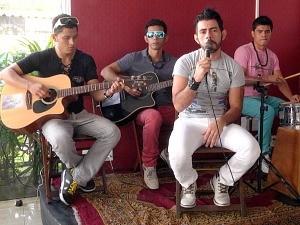Banda Triad é de São Gabriel da Cachoeira (Foto: Zappeando)