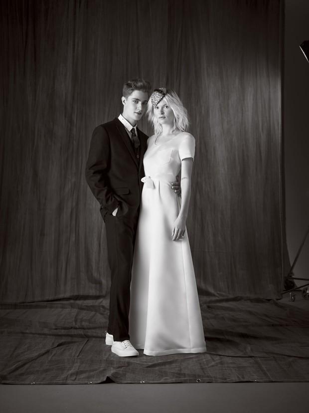 O estilista Alexandre Herchcovitch cria roupa de noiva e para casamento a preços populares para rede de departamento (Foto:  Bob Wolfenson e Lu Prezi/Divulgação)