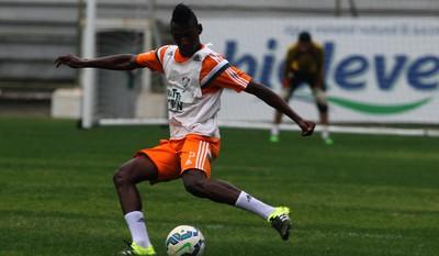 Leonardo Léo Pelé Fluminense (Foto: Nelson Perez / Fluminense)