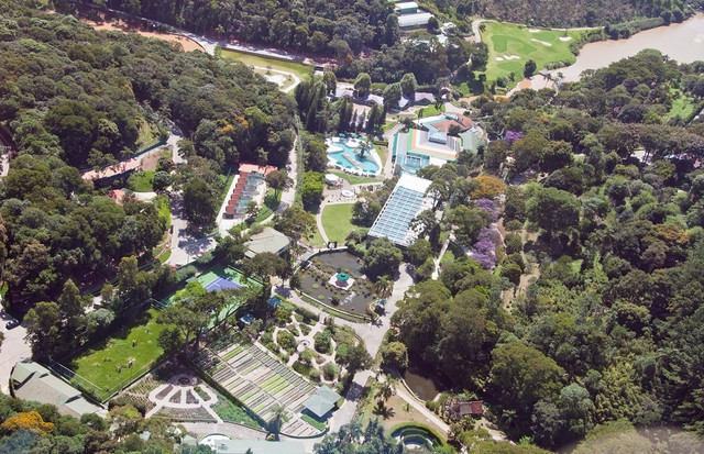 Unique Garden Hotel & Spa visto de cima (Foto: Divulgação)