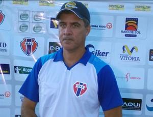 Vinícius Saldanha - técnico Maranhão (Foto: Bruno Alves)