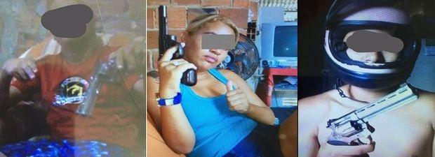 Mais fotos encontradas no celular da mãe das crianças  (Foto: Denarc/Divulgação)